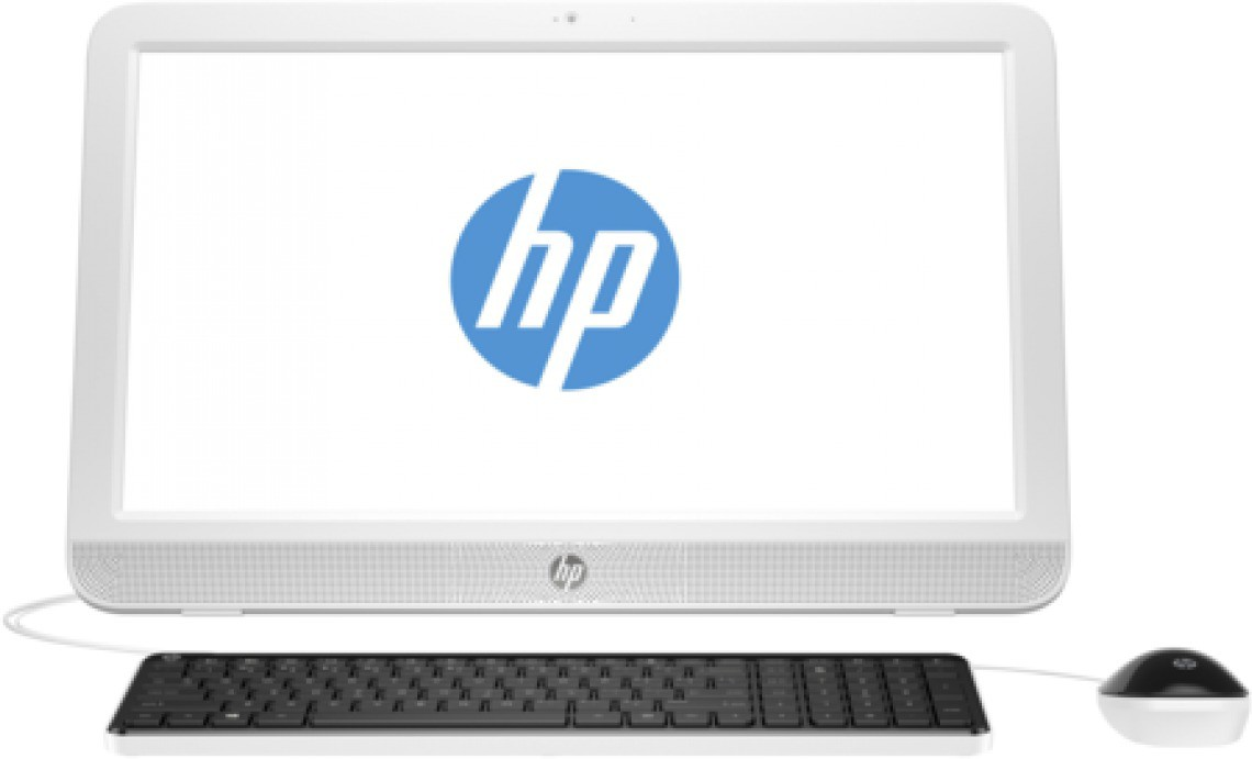 View HP - (Pentium Dual Core/2 GB DDR3/500 GB/Free DOS)(White, 19.45 Inch Screen) Desktop Computer Price Online(HP)