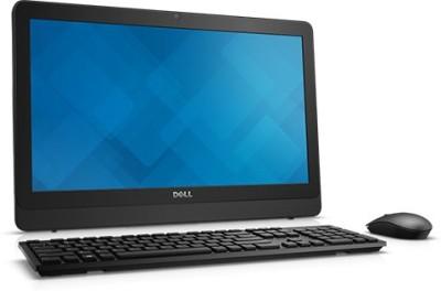 Dell - (Pentium Quad Core/4 GB DDR3/500 GB/Ubuntu)(Black, 19.5 Inch Screen)
