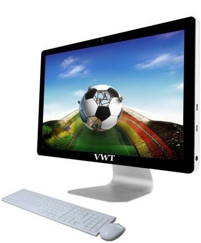 View VWT - (Core i3 (4th Gen)/4 GB DDR3/500 GB)(Black, White, 45 cm x 60.96 cm x 20 cm, 8 kg, 21.5 Inch Screen) Desktop Computer Price Online(VWT)