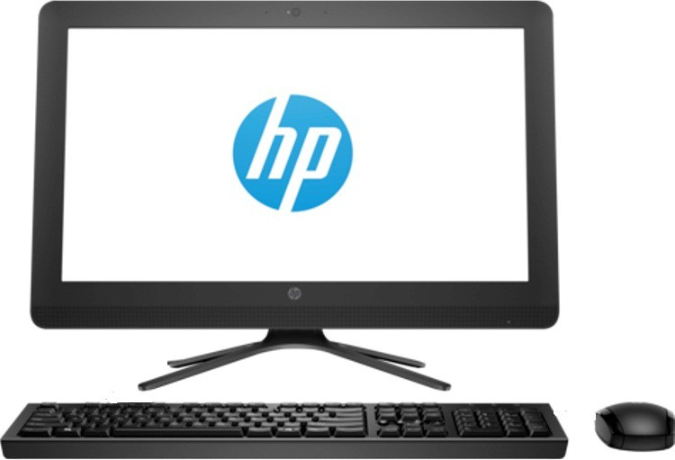 View HP - (Core i3 (6th Gen)/4 GB DDR 4/1 TB/Linux)(Black, 34.2 cm x 48.6 cm x 4.8 cm, 3.5 kg, 19.5 Inch Screen) Desktop Computer Price Online(HP)