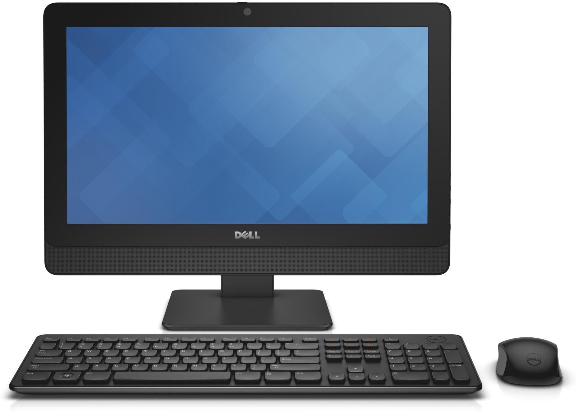 View Dell - (Core i3/4 GB DDR3/500 GB/Ubuntu)(Black, 19.5 Inch Screen) Desktop Computer Price Online(Dell)