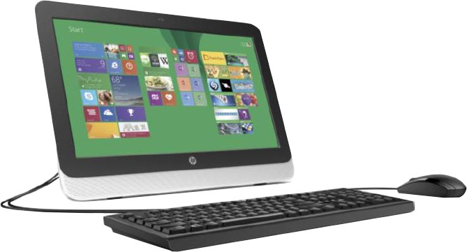View HP - (Pentium Quad Core/2 GB DDR3/500 GB/Windows 8.1)(Black, Silver, 19.45 Inch Screen)  Price Online