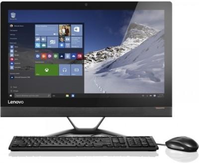 Lenovo - (Core i3 (6th Gen)/4 GB DDR4/1 TB/Free DOS) Ideacentre(Black, 5.2 kg, 20 Inch Screen)