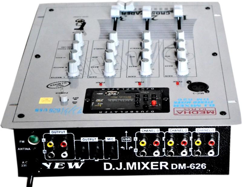 Medha DM-626USB 220 W AV Power Amplifier(Grey)