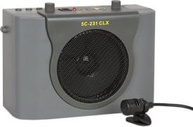 5 Core Pa 231dlx Portable Amplifier Rechargeable With Head Mic 15 W AV Power Amplifier