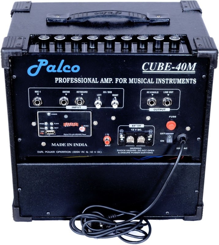 Palco PLC40 40 W AV Power Amplifier(Black)