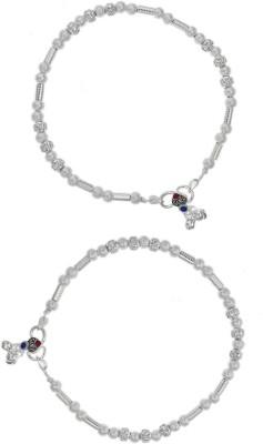 Jewel99 Mystic Silver Anklet