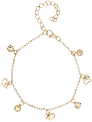 20Dresses Hearts Do Sing Metal Anklet at flipkart