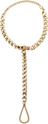 20Dresses Harnessed In Chain Metal Toe Anklet at flipkart