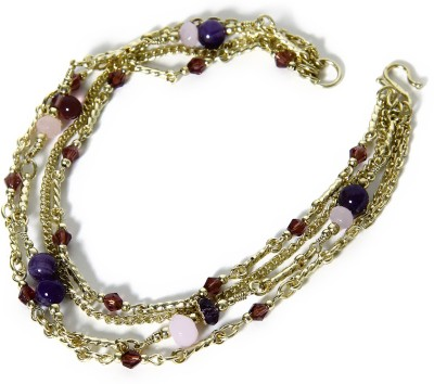 Galz4ever Traditional Gold & Payal Alloy Anklet at flipkart