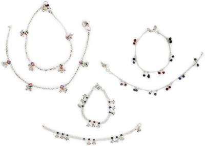 Charms Combo Of Fashion Alloy Anklet