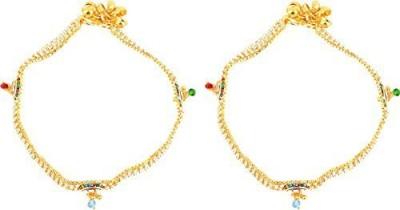 Beadworks Copper Anklet