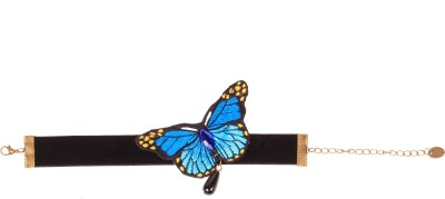 Styleburst Butterfly Fabric Anklet