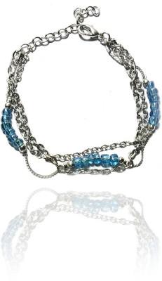 Beadworks Alloy, Copper, Glass Bracelet
