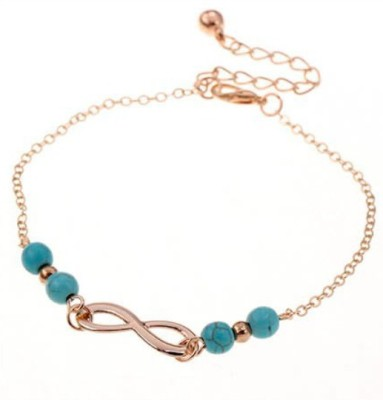The Onyx Label Alloy Anklet