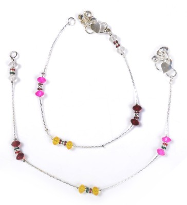 Charms Fashion Connected Alloy Anklet