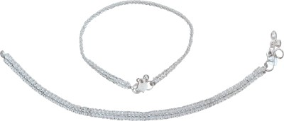 Charms Fashion On Feet Alloy Anklet