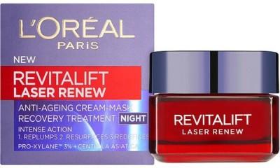 L ,Oreal Paris Revitalift Laser Renew Night Cream - Mask