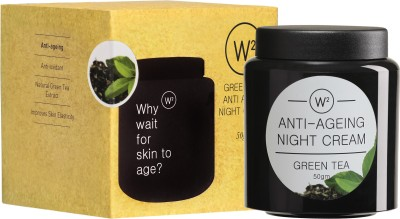 W2 Green Tea Anti-Ageing Night Cream