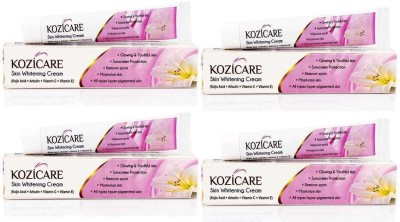 West-Coast Kozicare Skin Whitening Cream Pack Of 4