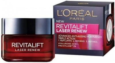 L ,Oreal Paris Dermo Expertise Revitalift Laser Renew Advanced Anti-Aging Moisturiser - Triple Action