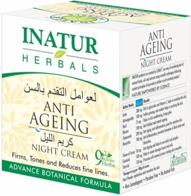 Inatur Herbals Anti-Ageing Night Cream