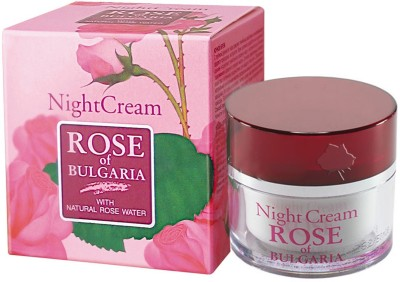 Bio Fresh Rose of Bulgaria Night Cream With Natural Rose Water