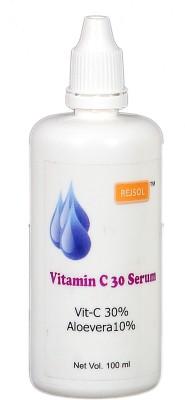 Rejsol Vitamin c 30 Serum 100 ml, Vitc 30% Aloevera 10%