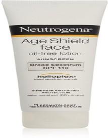 Neutrogena Age Shield Face Lotion Sunscreen Broad Spectrum