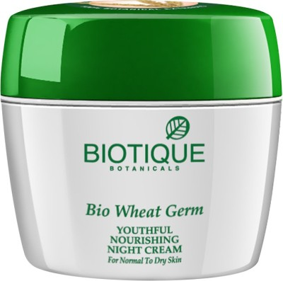 Biotique Bio Wheatgerm (Youthful Nourishing Night Cream)175 Gm