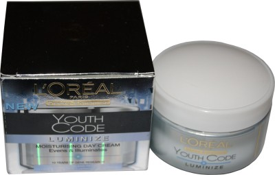 L ,Oreal Paris Dermo-expertise Youth Code Luminize Moisturising Day Cream(50 ml)