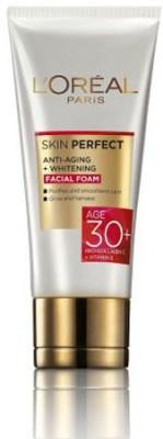 L,Oreal Paris Skin Perfect Anti-Ageing Whitening Facial Foam 30+