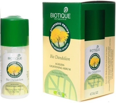 Biotique Bio Dandelion Ageless Lightening Serum For All Skin Types,
