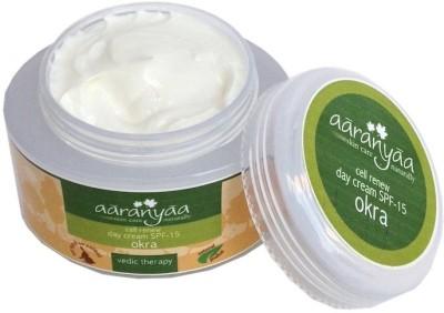 Aaranyaa Cell Renewal Day Protection Cream-Spf-15 Okra