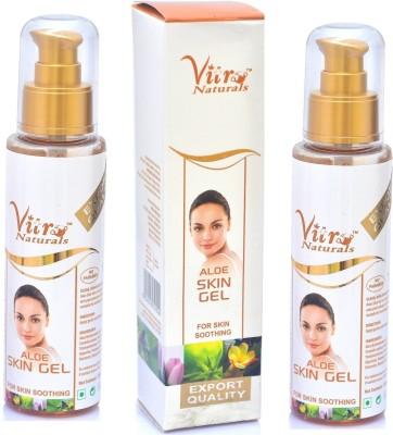 Vitro Naturals Aloe Skin Gel 100 gm Set of 2