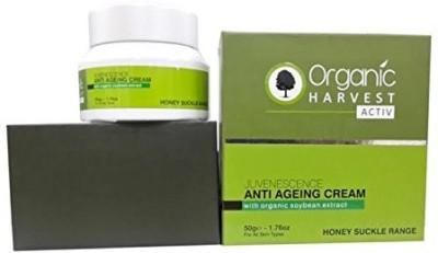 Organic Harvest Activ Anti Ageing Cream-Honey Suckle Range