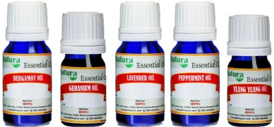 Natura Stress Relief Massage Essential Oil Combo