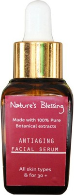 Nature's Blessing Antiaging Facial Serum