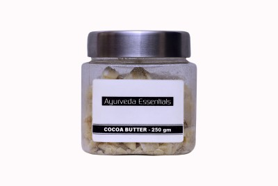 Ayurveda Essentials 100% Natural Raw Cocoa Butter
