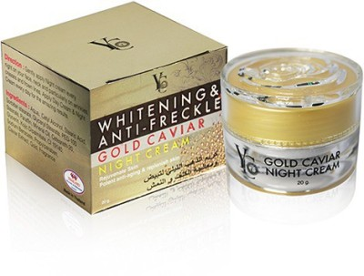 YC Whitening & Anti - Freckle Gold Caviar Night Cream
