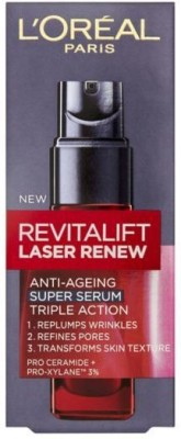 L ,Oreal Paris Dermo Expertise Revitalift Laser Renew Anti-Aging Triple Action Super Serum