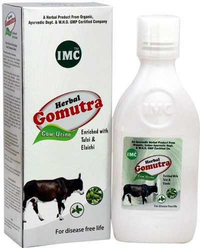 IMC Herbal Gomutra With Tulsi and Elaichi(500 ml)