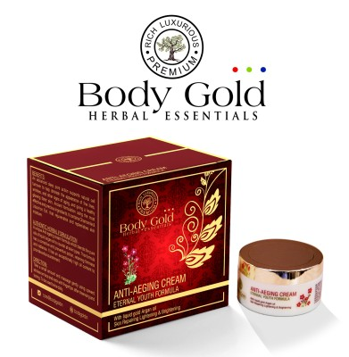 Body Gold Luxurious Herbal Anti Ageing Cream