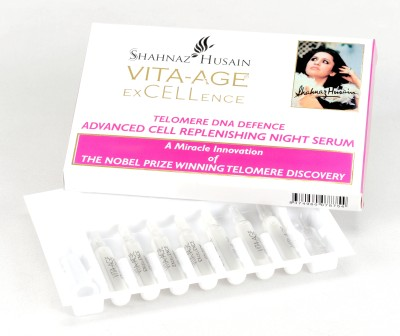Shahnaz Husain A Miracle Innovation Of The Nobel Prize Winning Telomere Discovery(7.5 ml)