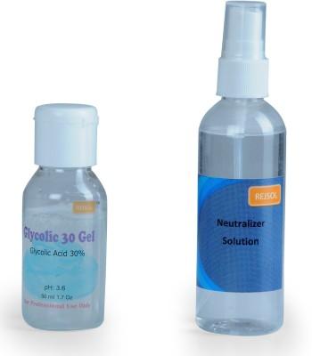 REJSOL Glycolic Acid 30% Gel 50 ml with 100 ml Neutralizer