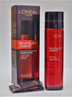 L,Oreal Paris Revitalift Laser*3 New Skin Anti-Aging Power Water