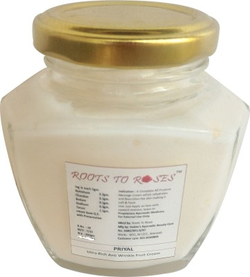 Roots To Roses Priyal Ultra Rich Anti Wrinkle Fruit Cream