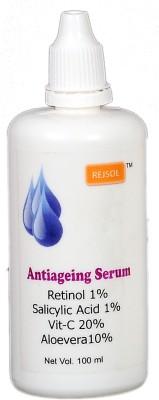 Rejsol Anti ageing Serum Retinol 1% Salicylic Acid 1% Vitamin C 20% Aloevera 10%