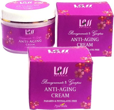 Lass Naturals Pack Of 2 Anti-Ageing Skin Protection Cream