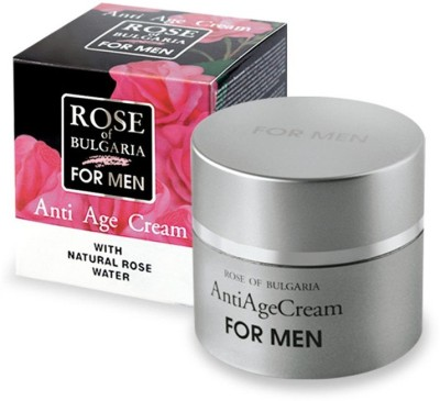 Bio Fresh Rose Of Bulgaria Anti Age Cream For Men With Natural Rose Water